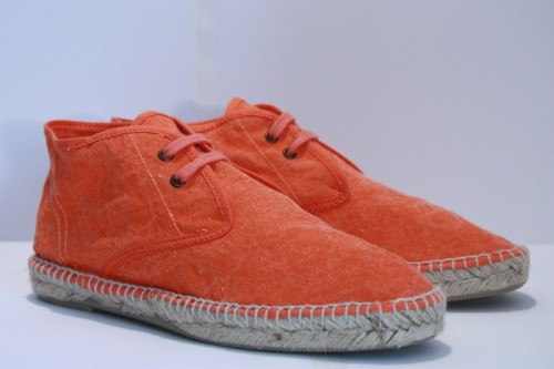 Boots stone washed espadrille