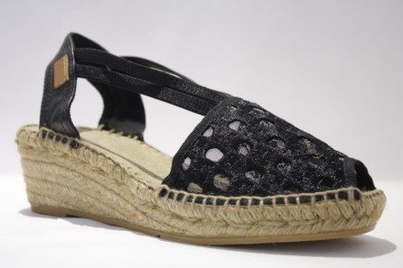 "Peep Toe Band Espadrille ""Moon"""