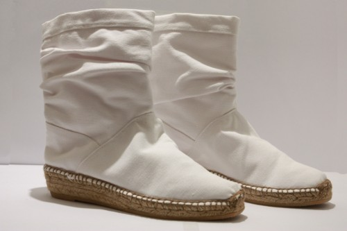 Highboots espadrille