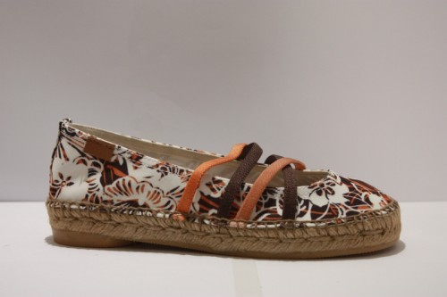 Ballerina espadrille with bands Hawai