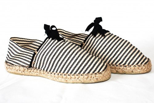 Traditional Espadrille hand sewn Picasso France Mauléon