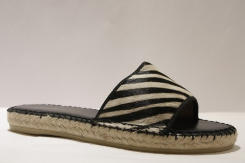 "Mule Espadrille in Pony Styled ""Animal"""