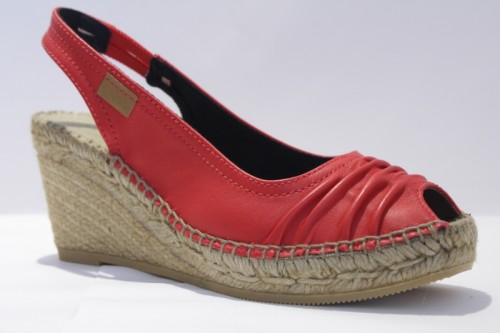Leather Pump espadrille