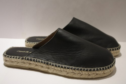Slippers leather Espadrille