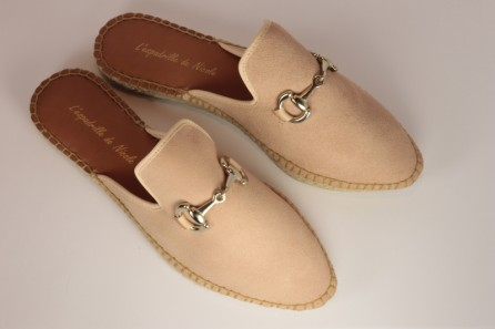 Espadrille Slippers  Nubuck leather