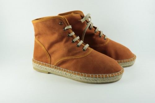 Espadrille Nubuck Leather Boots