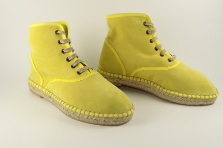 Espadrille Bottines Nubuck