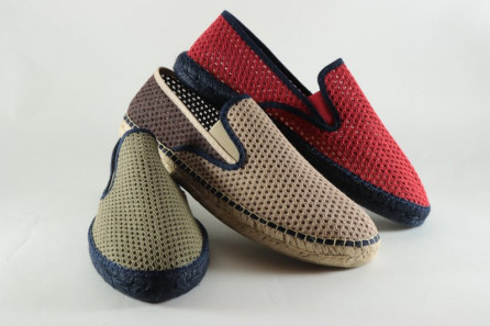 Espadrille homme filet