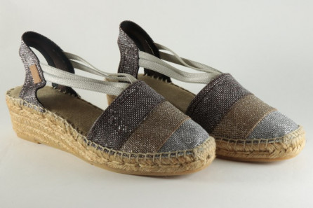 Sparkle women espadrille with bands